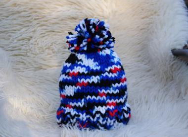 bumbuļmice, ziemas cepure, adīta cepure