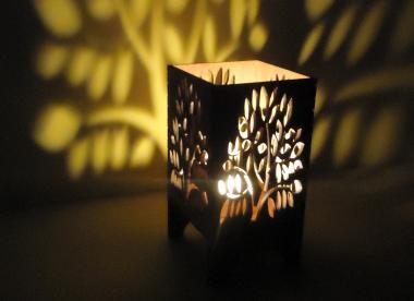 korporatīvā dāvana, koka svečturis