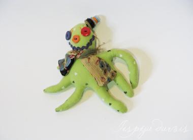 mīkstā rotaļlieta - seškājis